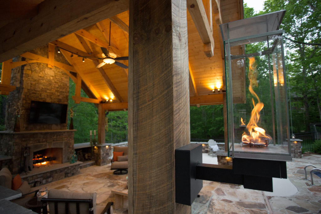 Outdoor Fireplaces Firepits Southern Luxury Construction