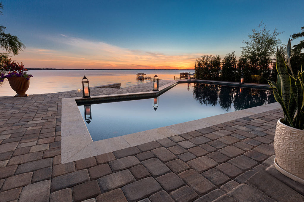 In ground pool chattanooga tn nashville tn southern luxury constuction for Swimming pool builders nashville tn